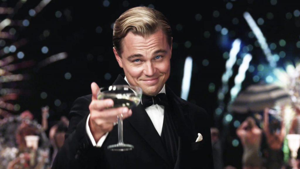 Great Gatsby Toast